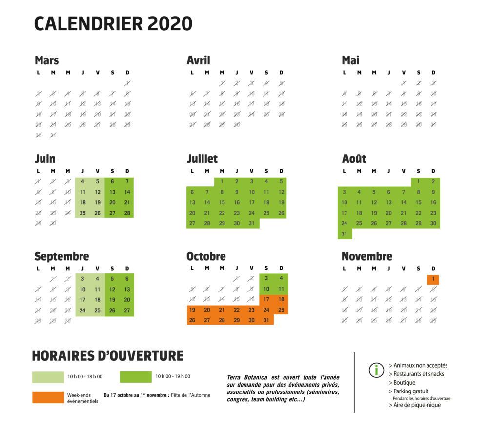 calendrier paysage avec modif weekend octobre officiel