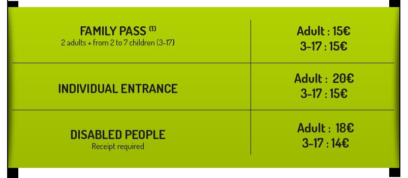 individual entrance
